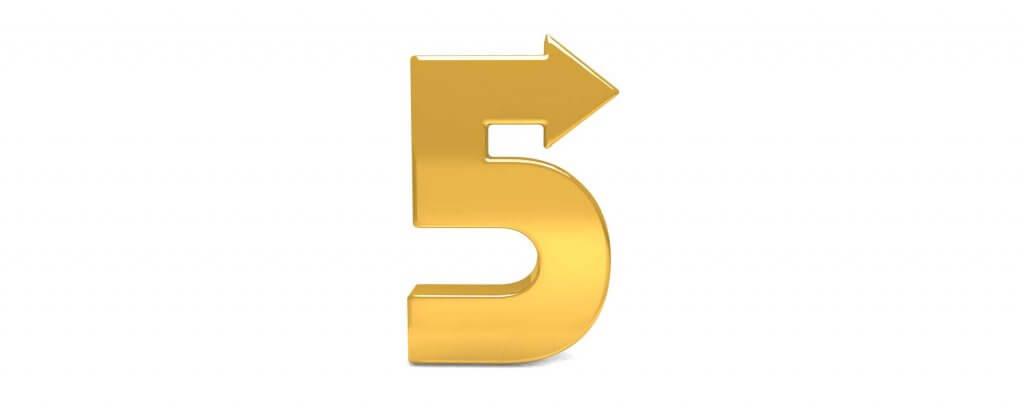 5 Regeln, die so noch niemand zusammengestellt hat